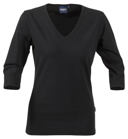 Ladies Lynn top in black