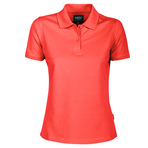 Ladies Albatross Polo in Coral