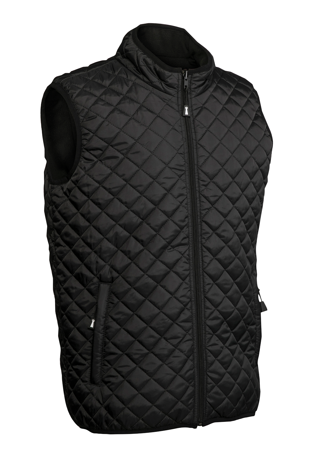 Beacon Unisex Arena Quilted Vest with Fleece Lining