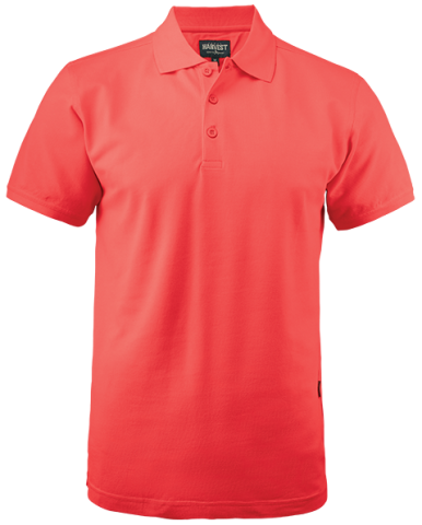 Mens Eagle Polo in Coral