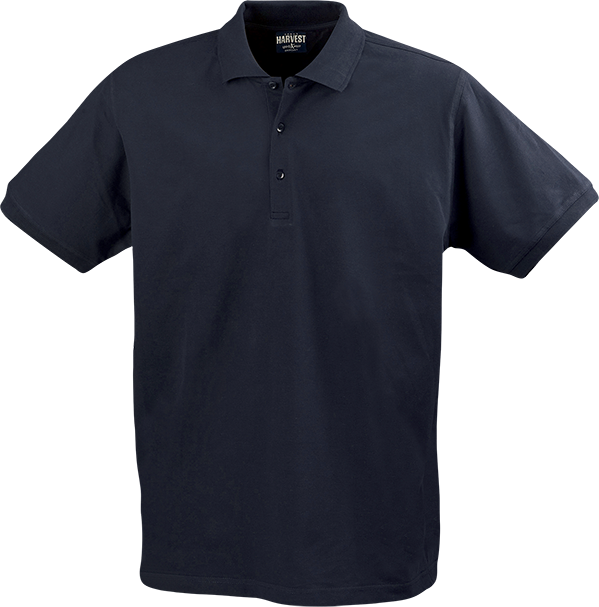 Mens Eagle Polo in Navy