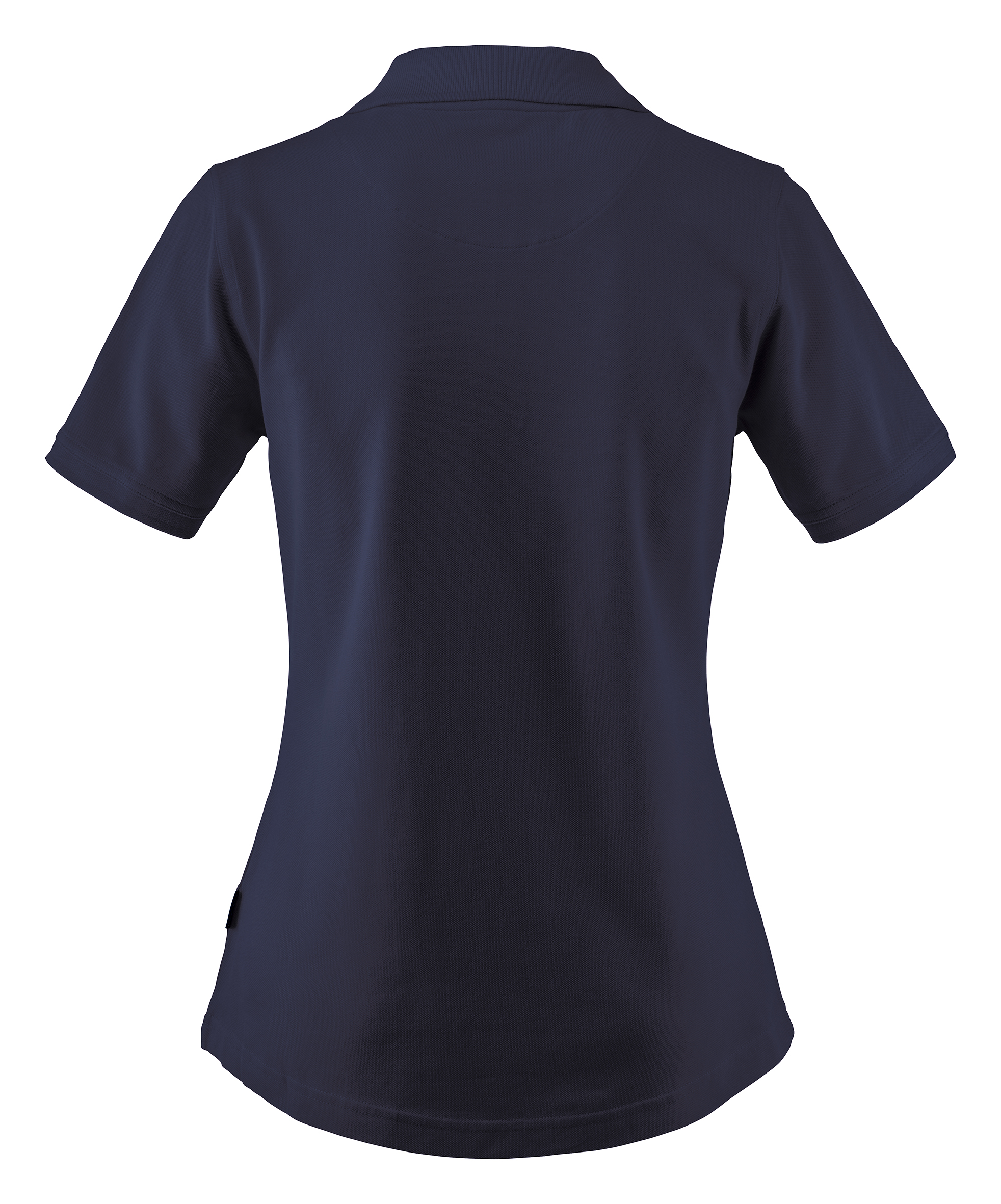 Ladies Albatross Polo in Navy Back View
