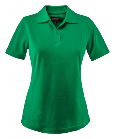Ladies Albatross Polo in Spring Green