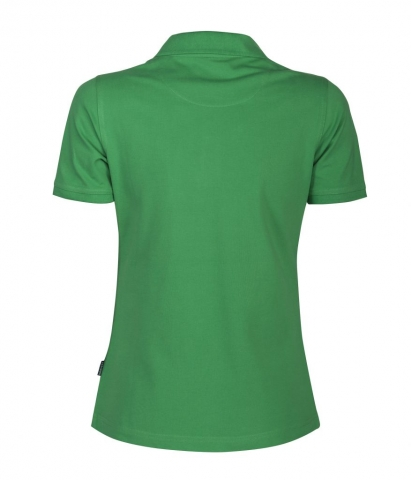 Ladies Albatross Polo in Spring Green Back View