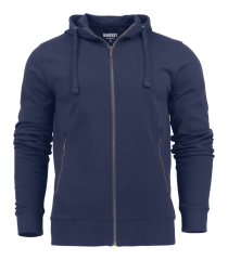 Mens Hooded Duke Jacket in 600 Navy
