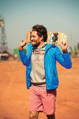 Headway Jacket in 632 Blue