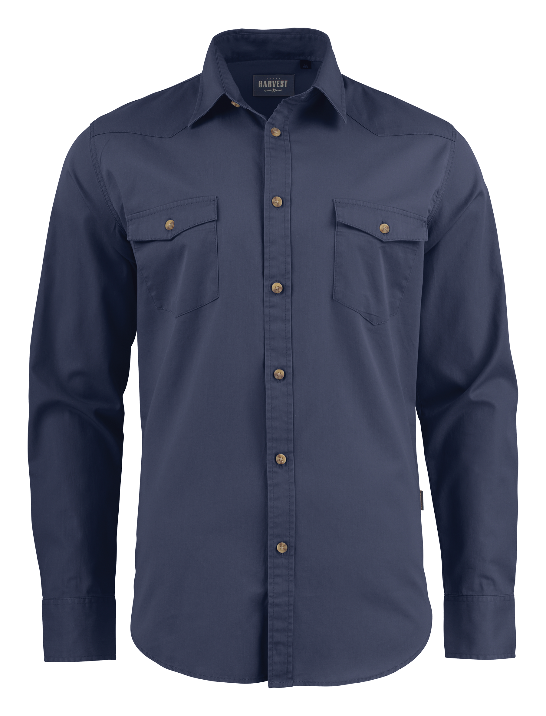 Unisex Treemore Shirt in Navy Blue