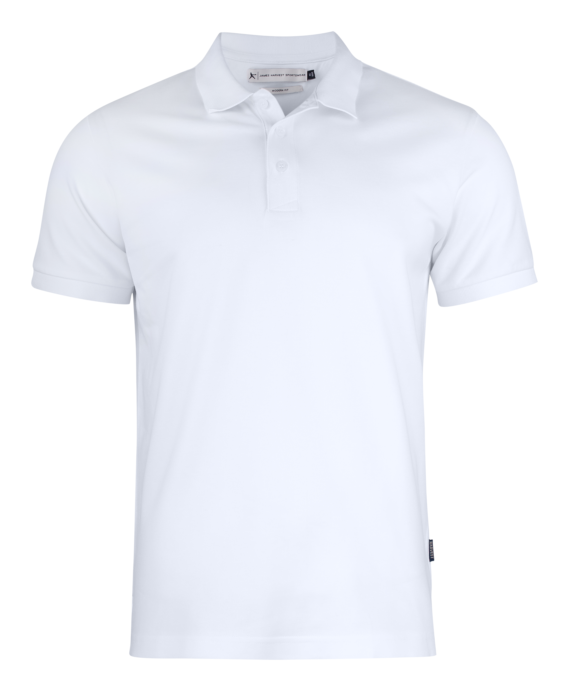 Sunset Modern Polo in White