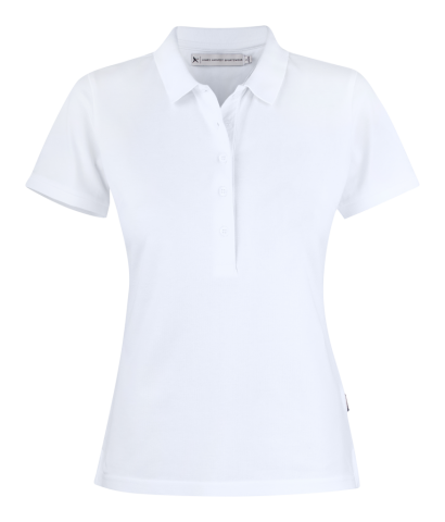 Sunset Woman Polo in White