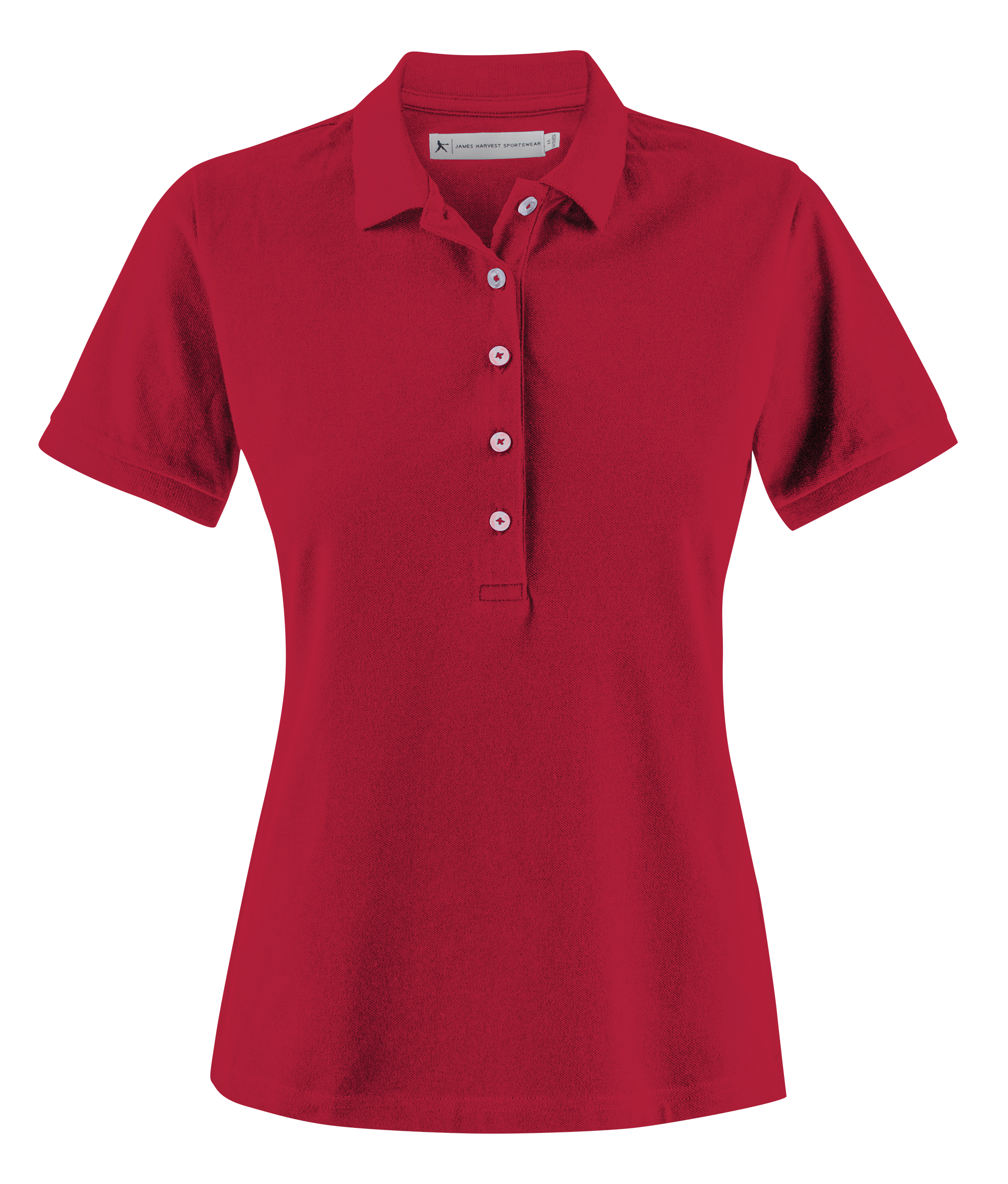 Sunset Woman Polo in Red