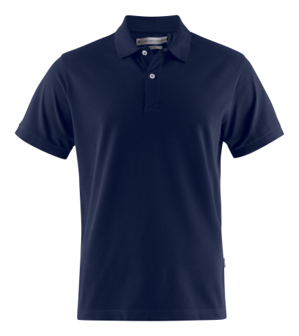 Sunset Modern Polo in Navy