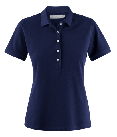 Sunset Woman Polo in Navy