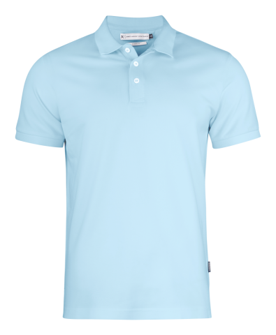 Sunset Modern Polo in Light Turquoise