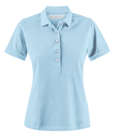 Sunset Woman Polo in Light Turquoise