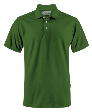 Sunset Modern Polo in Sports Green