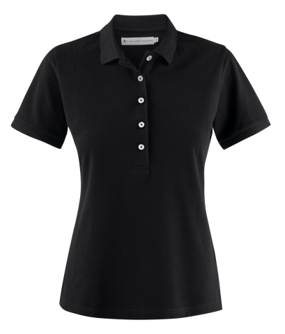 Sunset Woman Polo in Black